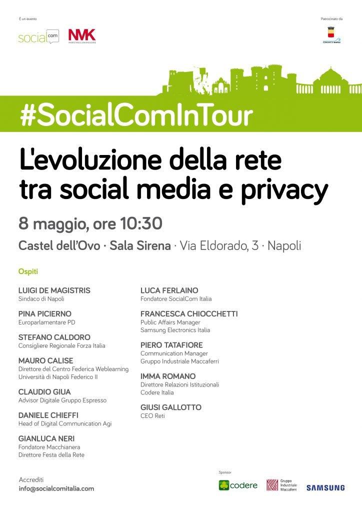 #socialcomintour Napoli