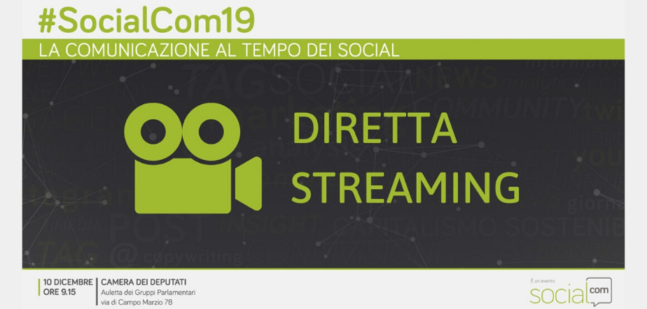 Diretta Streaming SocialCom19